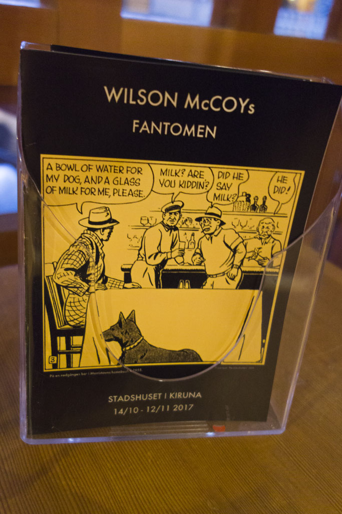 Wilson McCoy Kiruna stadshus